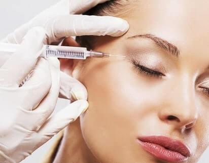göz kapağı yağ enjeksiyonu